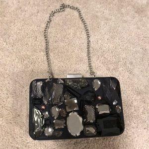 Black gem small clutch